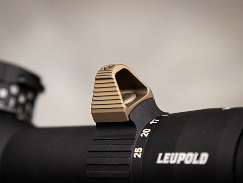 leupold mark 5HD, throw lever